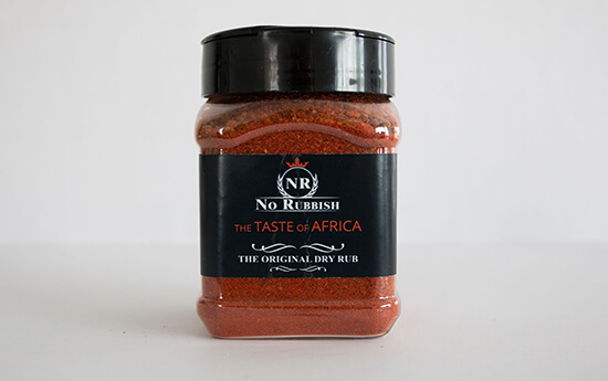Rubs the Taste of Africa | Haardhout.com